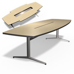 CCi Furniture Office - Conference table with storage